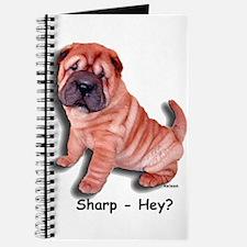 Chinese Shar-pei Puppy Sharp Hey? Journal