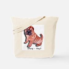 Chinese Shar-pei Puppy Sharp Hey? Tote Bag