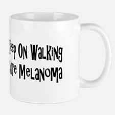 Funny Melanoma cure Mug