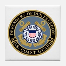 Coast Guard<BR> Tile Coaster 4