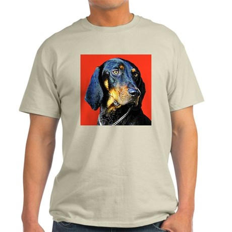 Black and Tan Coonhound Light T-Shirt
