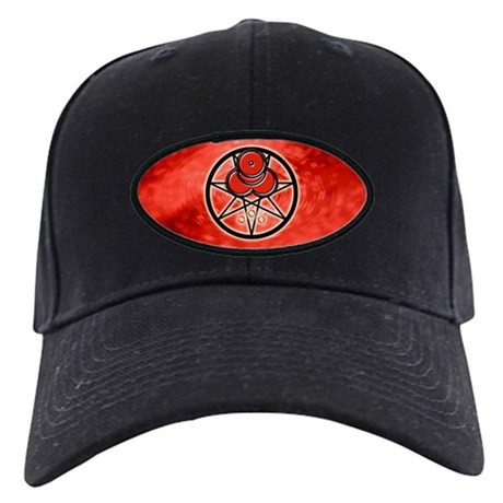 Mark of the Beast Black Cap - Red