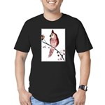 Cardinal Men's Fitted T-Shirt (dark)