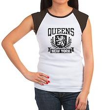 Queens NY Women's Cap Sleeve T-Shirt