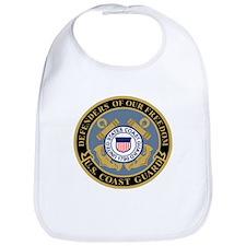 Coast Guard<BR> Baby Bib