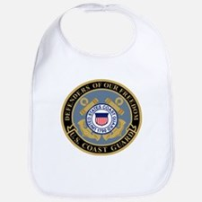 Coast Guard<BR> Baby Bib