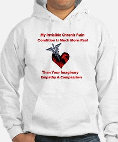 Invisible Chronic Pain Red He Hoodie
