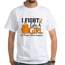 Fight Like A Girl Multiple Sclerosis Shirt