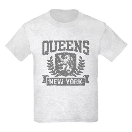 Queens NY Kids Light T-Shirt