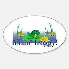 Feelin' Froggy Decal