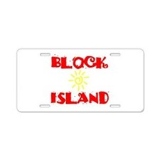 BLOCK ISLAND III Aluminum License Plate