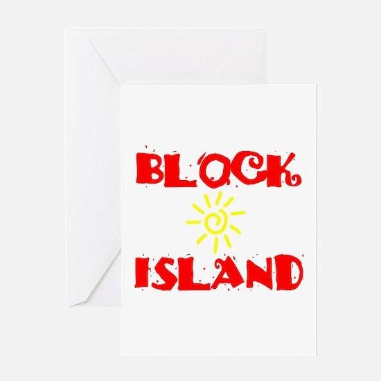 BLOCK ISLAND III Greeting Card