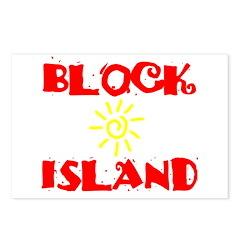 BLOCK ISLAND III Postcards (Package of 8)