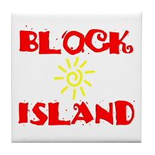 BLOCK ISLAND III Tile Coaster