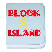 BLOCK ISLAND III baby blanket