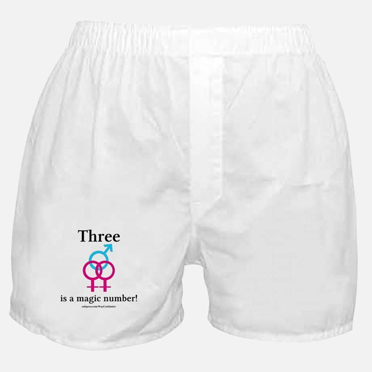 Three is a Magic Number Boxer Shorts