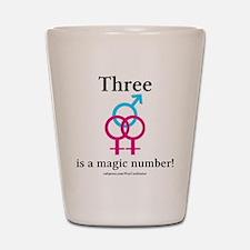 Three is a Magic Number Shot Glass
