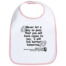 Young Live Quote Bib