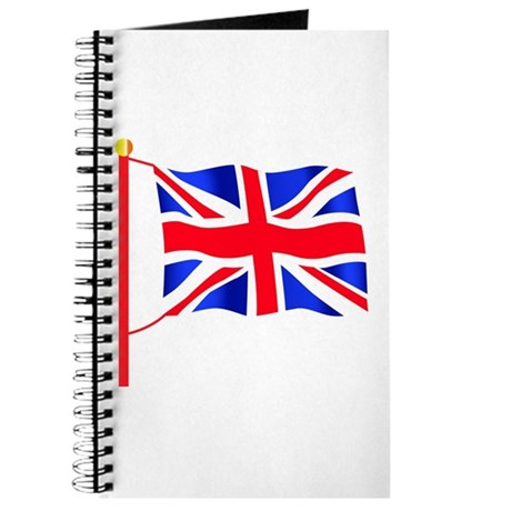 union jack journal by octco. Black Bedroom Furniture Sets. Home Design Ideas