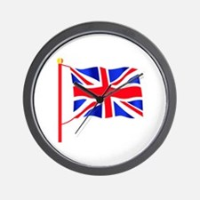 Cute England Wall Clock