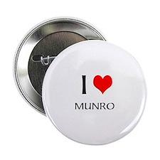 I Love Munro Button