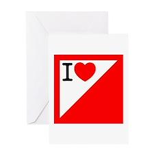 Orienteering Greeting Card
