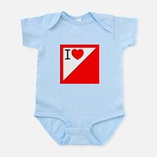 Orienteering Infant Bodysuit
