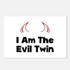 Evil Twin Postcards (Package of 8)