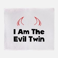 Evil Twin Throw Blanket