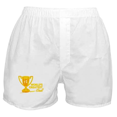 Greatest Dad Trophy Boxer Shorts
