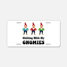 Gnomies Aluminum License Plate