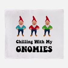 Gnomies Throw Blanket