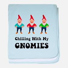 Gnomies baby blanket
