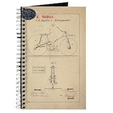 Velocipede Patent 1869 Journal