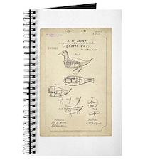 Aquatic Toy Patent 1870 Journal