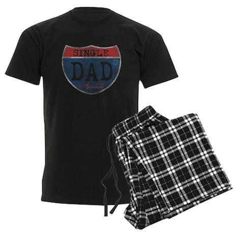 SINGLE DAD AVAILABLE Men's Dark Pajamas
