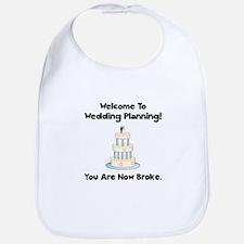 Wedding Broke Bib
