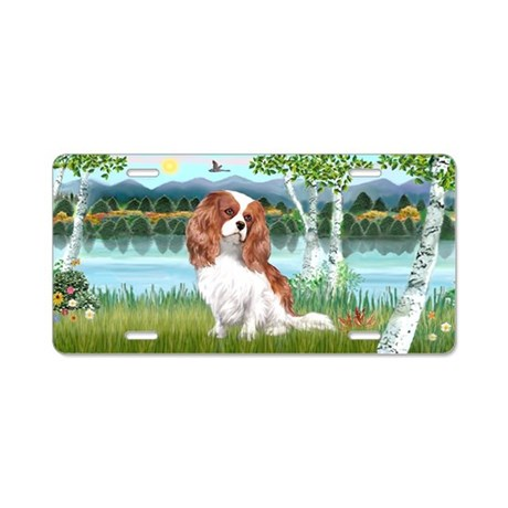 Birches-Cavalier (BL2) Aluminum License Plate