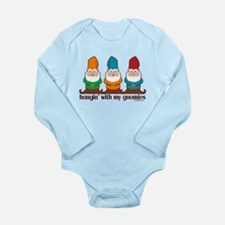 Hangin' With My Gnomies Long Sleeve Infant Bodysui