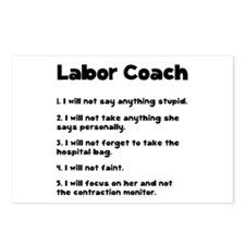 Labor Coach Postcards (Package of 8)