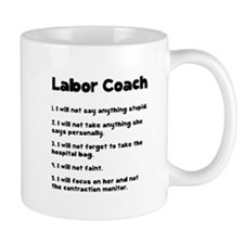 Labor Coach Small Mug
