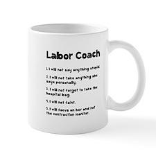 Labor Coach Small Mug