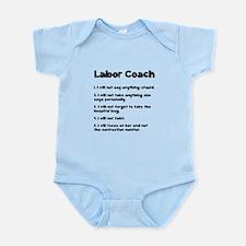 Labor Coach Infant Bodysuit