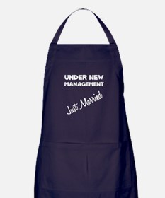 Just Married Apron (dark)