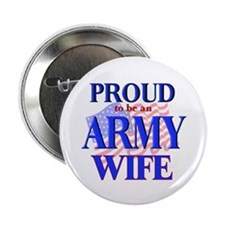 Army - Wife Button