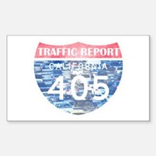 405 TRAFFIC REPORT = PARKING LOT Decal