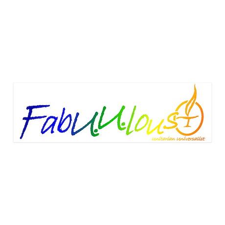 """""""FabUUlous"""" 42x14 Wall Peel"""