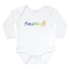 """FabUUlous"" Long Sleeve Infant Bodysuit"