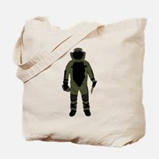 Bomb Suit Tote Bag
