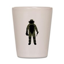 Bomb Suit Shot Glass